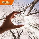 Rollei Lensball 90mm I Sfera di Vetro I Sfera di Cristallo I Sfera di Cristallo I Sfera della foto con la borsa di stoccaggio & panno di pulizia in microfibra per la pulizia della sfera di vetro