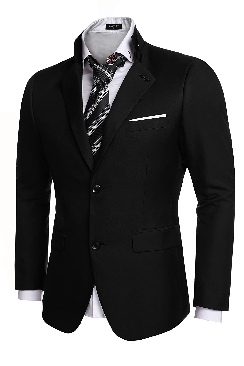 Coofandy Men's Casual Dress Suit Slim Fit Stylish Blazer Coats ...