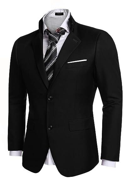 Amazon.com: COOFANDY - Chaqueta de chaqueta estilo Blazer ...