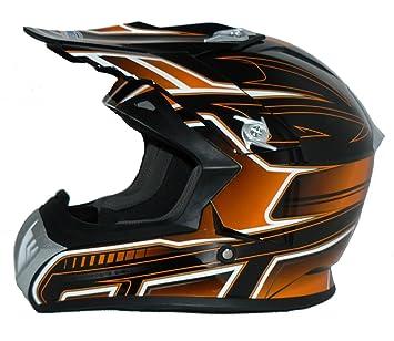 Protectwear Casco de cross / Enduro naranja-negro FS603-OR Tamaño M