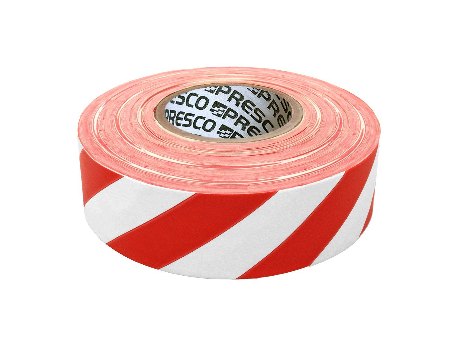 3.75 Length 1.18 Wide Presco SPGREF 1-3//16 x 150 Pink Glo PVC Day//Night Flagging Tape 3.75 Height