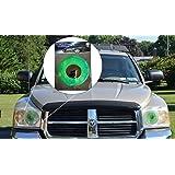 Swagasaurus Rex Green Car Eyes Headlight Tint Sticker - Perfect pairing with Car Eyelashes!