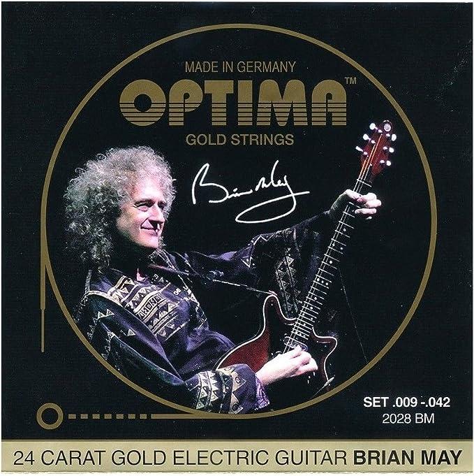 Optima Signature Brian May 009/042 Oro: Amazon.es ...