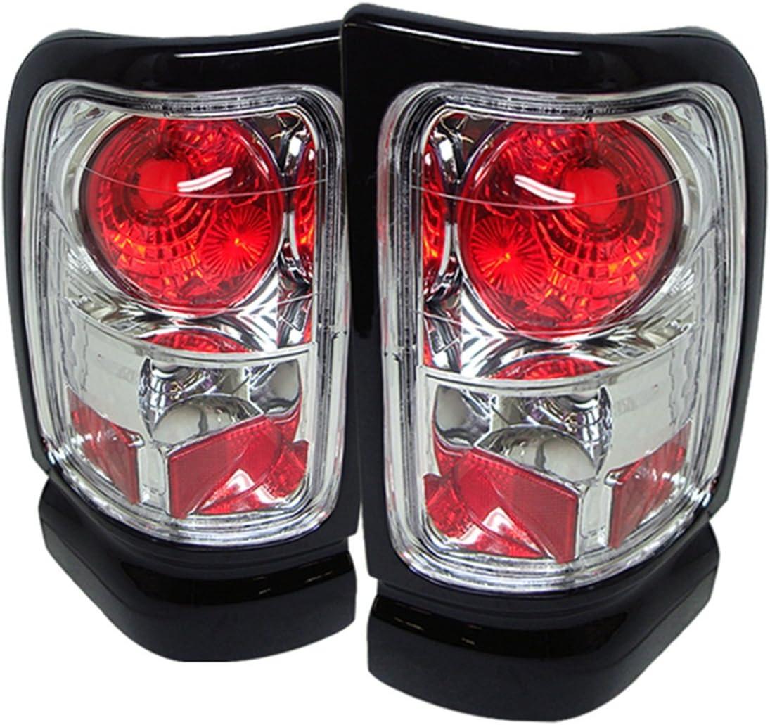 07-08 DODGE RAM 1500//07-09 2500 3500 PICKUP LED ALTEZZA TAIL BRAKE LIGHTS BLACK