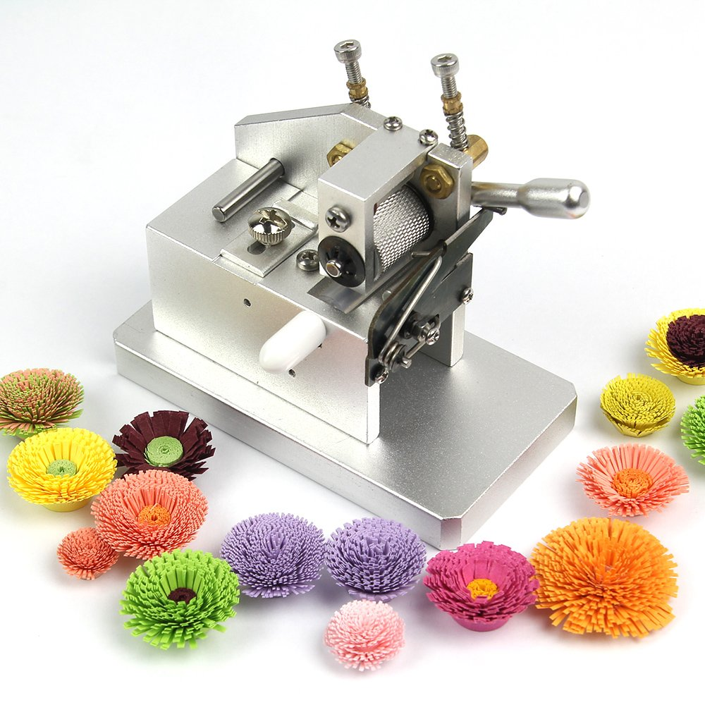 IMISNO Mini Craft Quilling Fringer Quilling Flower Making Tools Paper Tassel Cutting Machine by IMISNO (Image #2)