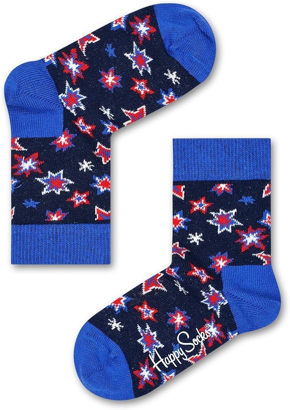 Happy Socks bunt limitierte Auflage Celebrity Collaboration Baumwollsocken f/ür Damen und Herren