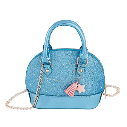 2f1093c3d11bb Image Unavailable. Image not available for. Color  RockPanda Princess  Little Girls Mini Satchel Crossbody Bag ...