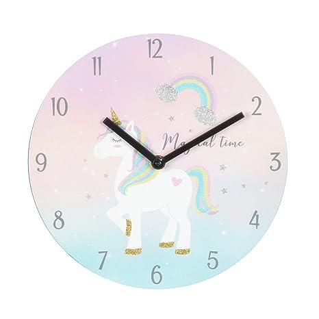 Magico unicorno arcobaleno capelli \'Orologio da regalo - Camera da ...