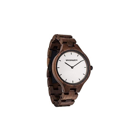 Madera Reloj mujer   Forest Dawn   Relojes de madera natural   la Wood Watch Relojes de madera oficial: Amazon.es: Relojes