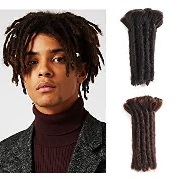 Amazoncom Dreadlocks Extension 6inch Dreads Handmade Synthetic