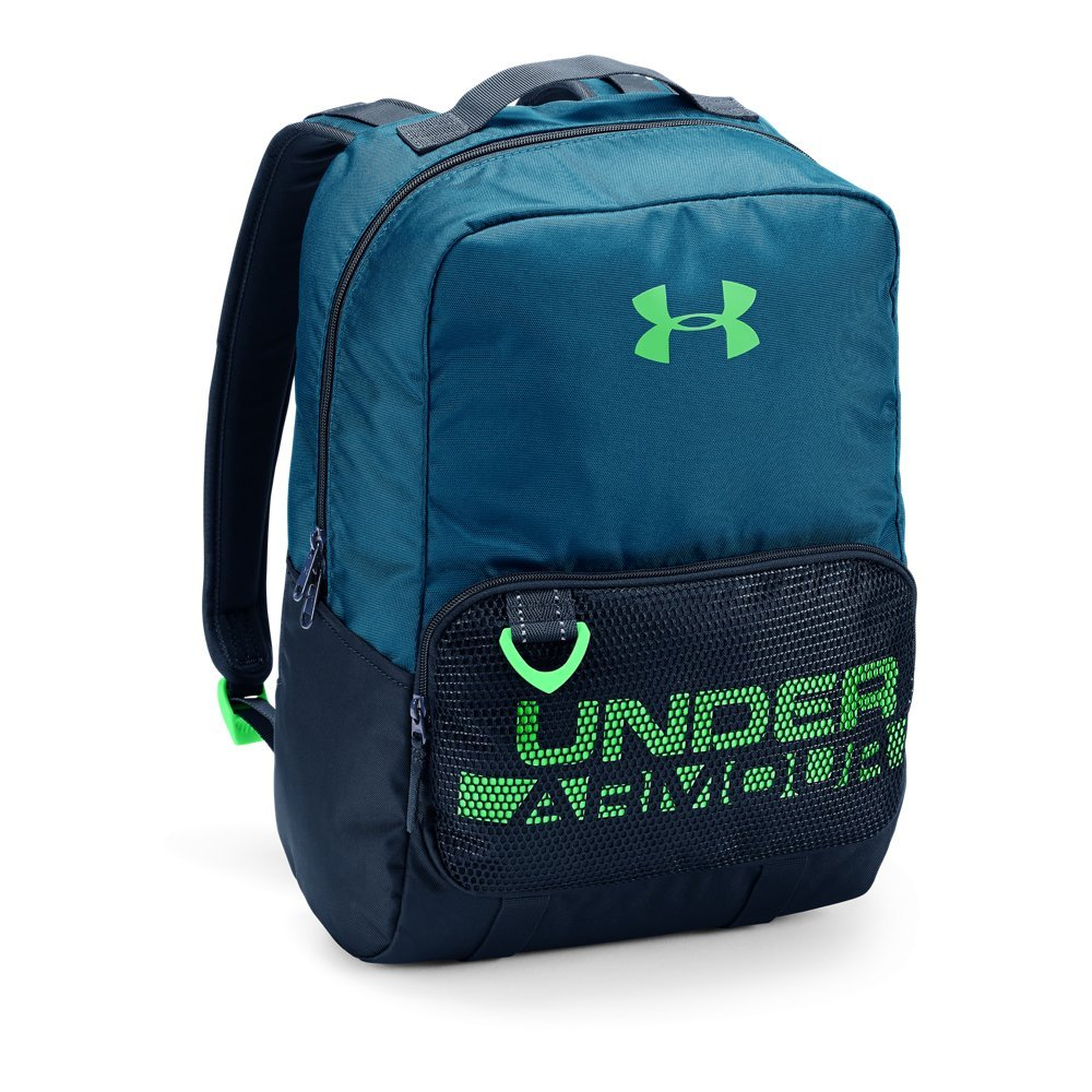 Under Armour Boys' Armour Select Backpack, Moroccan Blue (487)/Arena Green, One Size