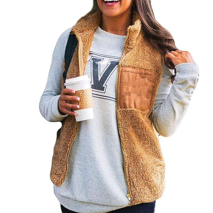 Darringls Abrigos de otoño Chaleco 2018, Suéter de Chaqueta Moda Camiseta de Manga Larga Mujer Jersey cálido Hoodie Felpa Sudadera con Capucha: Amazon.es: ...
