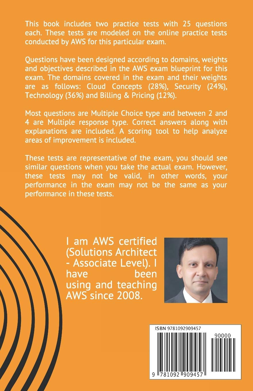 AWS Certified Cloud Practitioner (CLF-CO1) Exam - Practice Tests: 2