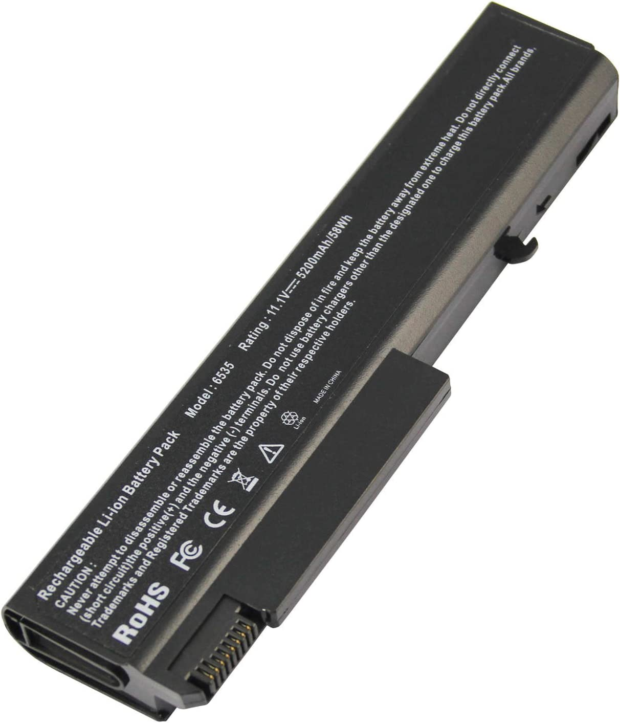 ARyee 5200mAh 11.1V Laptop Battery Compatible with HP EliteBook 8440P 6930P 6530B 6730B 6550B ProBook 6455B 6555B 486296-001 482962-001 KU531AA