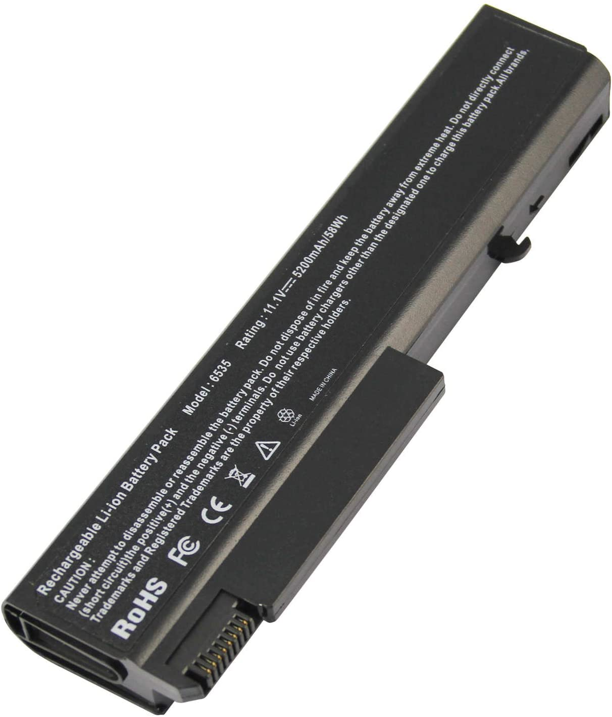 Laptop Battery Compatible with HP EliteBook 8440P 6930P 8440W ProBook 6440B 6455B 6540B 6545B 6550B Compaq 6730B 6735B 6530B, fits P/N 482962-001 HSTNN-UB69 KU531AA - High Extended Performance