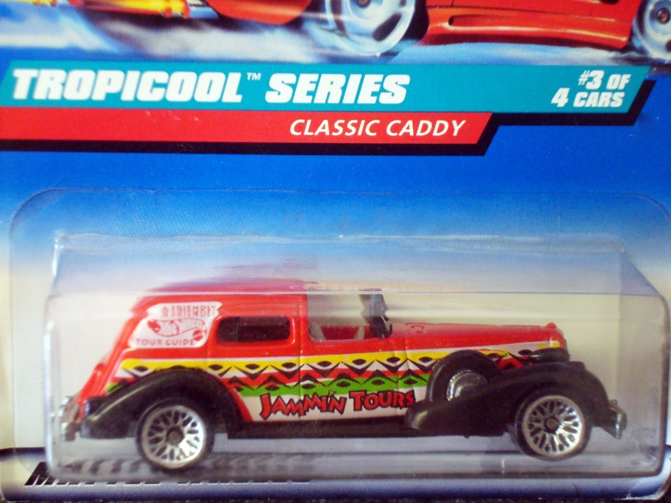 Hot Wheels Tropicool Series #3 Classic Caddy 1:64 Scale Collectible Die Cast Car Model #695