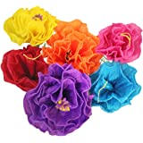 Amazon mexican fiesta crepe paper flowers gardenias large mexican paper flower set of 6 tissue paper hand made party fiesta decor gardenia mightylinksfo