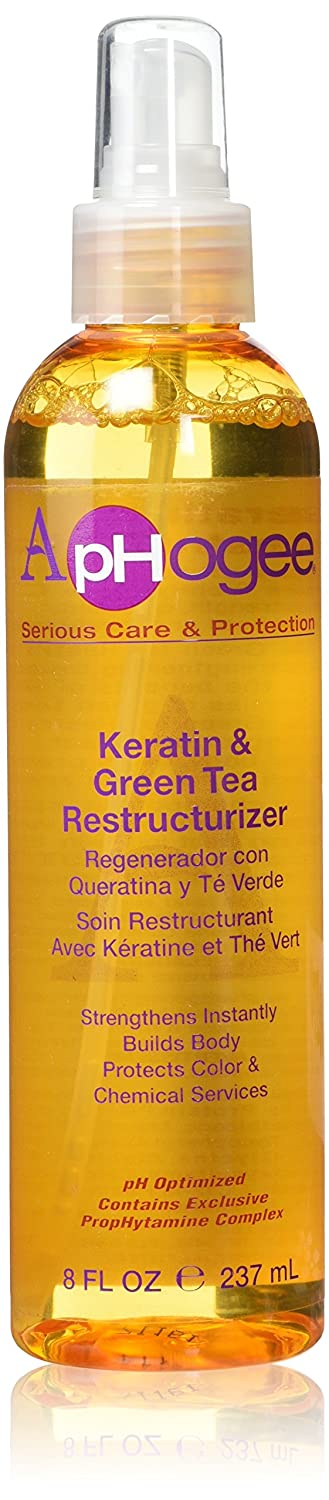 ApHogee Keratin and Green Tea Restructurizer 8 fl. oz Atlas Ethnic 35175