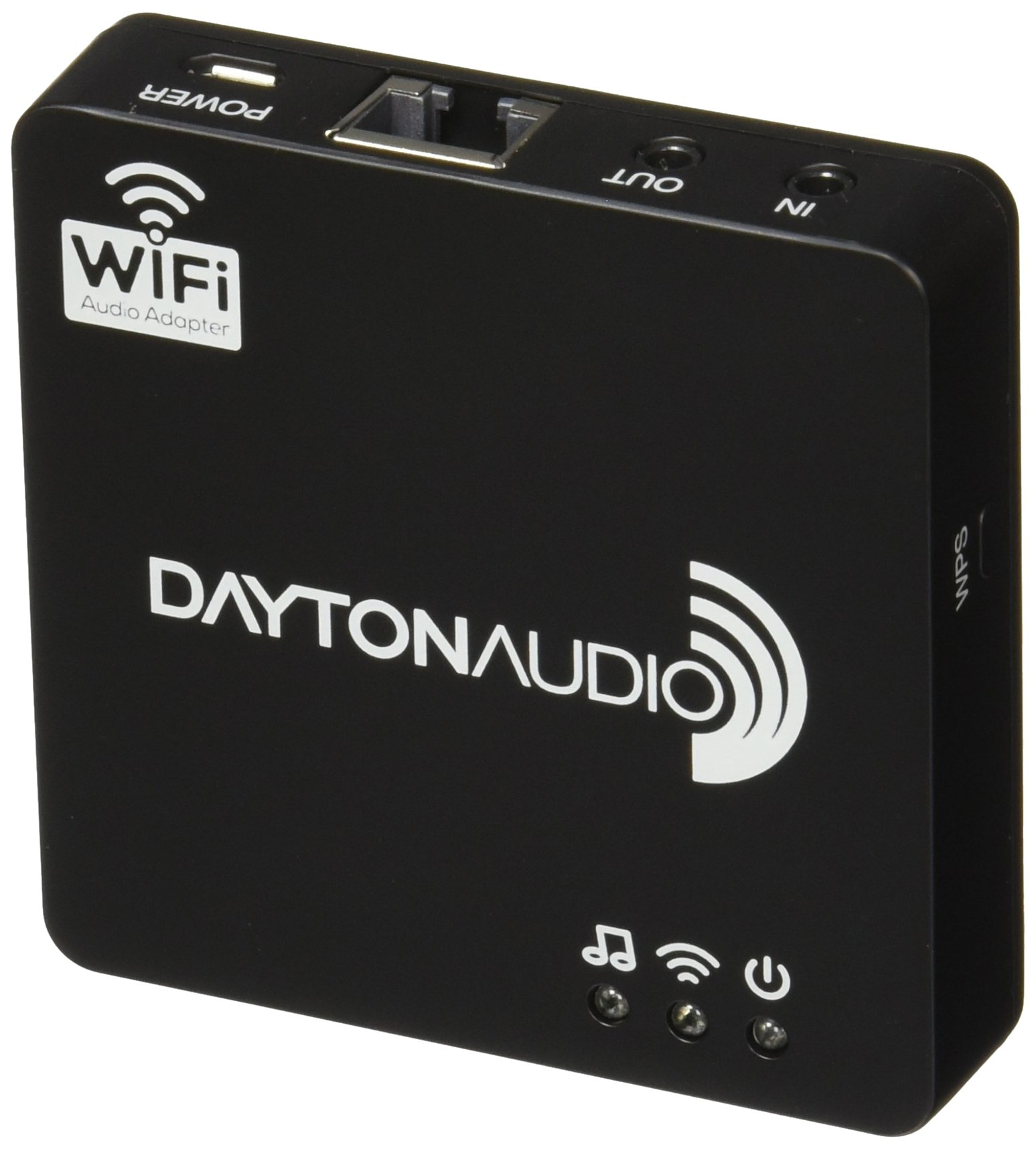 Dayton Audio WFA02 Multi-Room Wi-Fi Audio Adapter for iOS Android