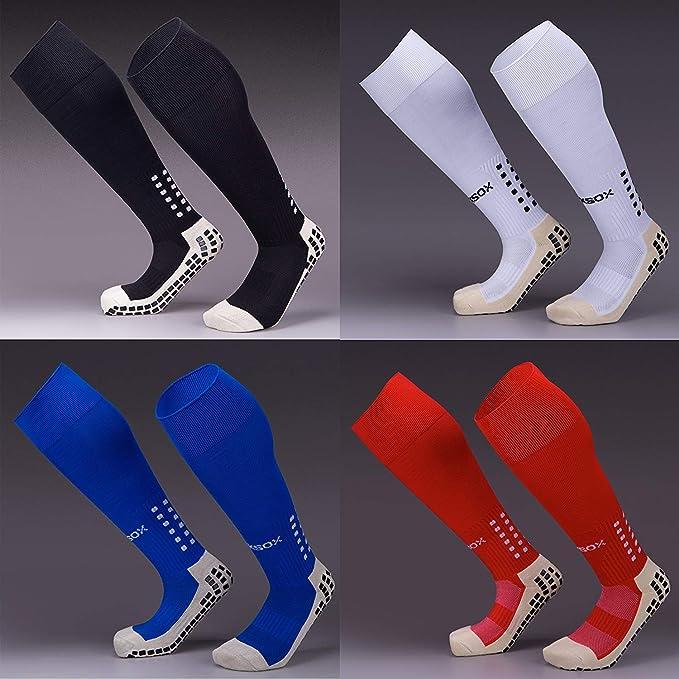 Non Slip Knee Length Sports Grip Socks