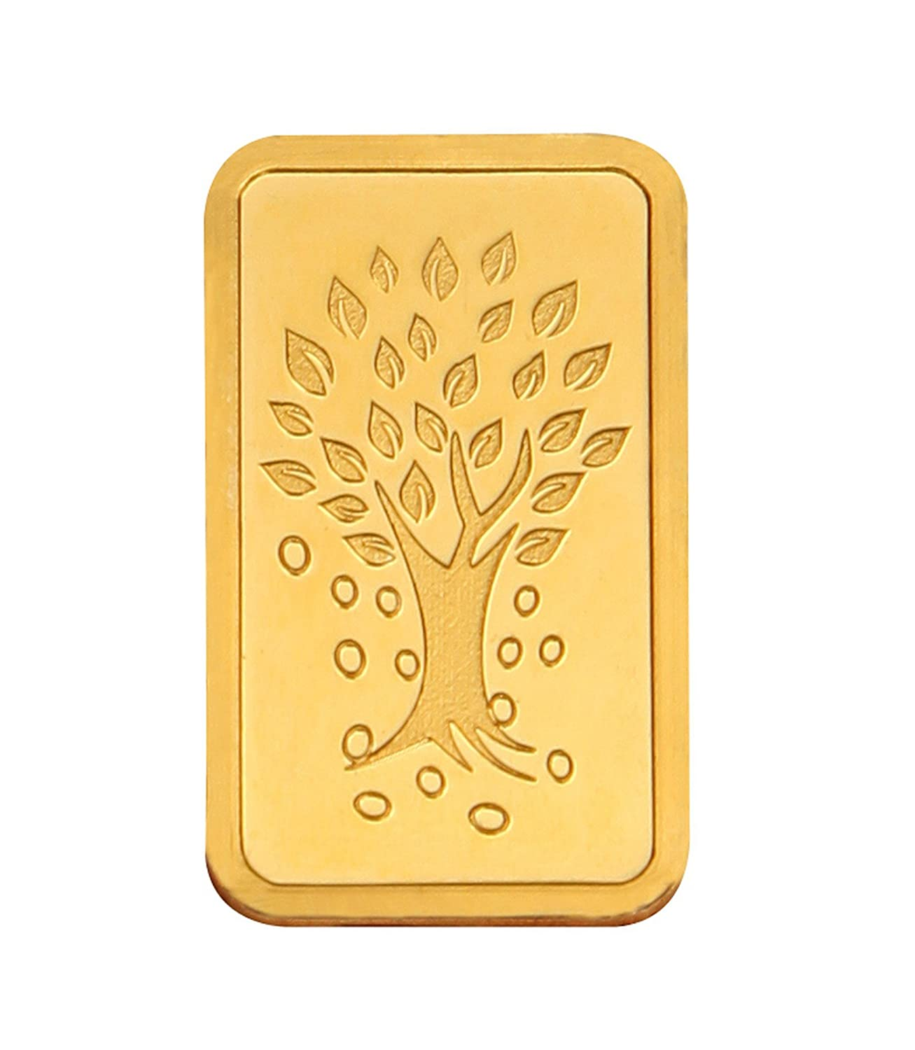 Kundan NABL Certified 20 gm, 24k(999.9) Yellow Gold Kalpataru Tree Precious Coin