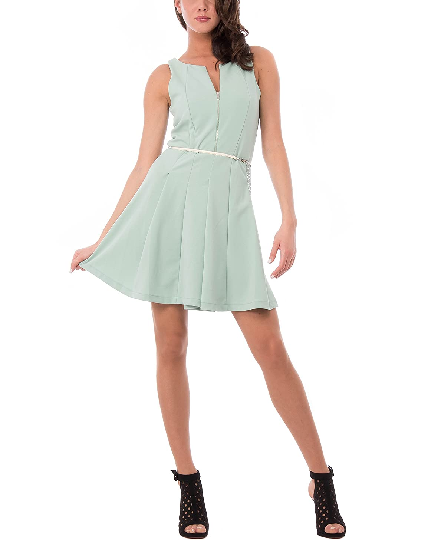 Womens Abito Smanicato Con Gonna Svasata Dress Isabella Roma Buy Cheap Brand New Unisex rFUb0N9Ji