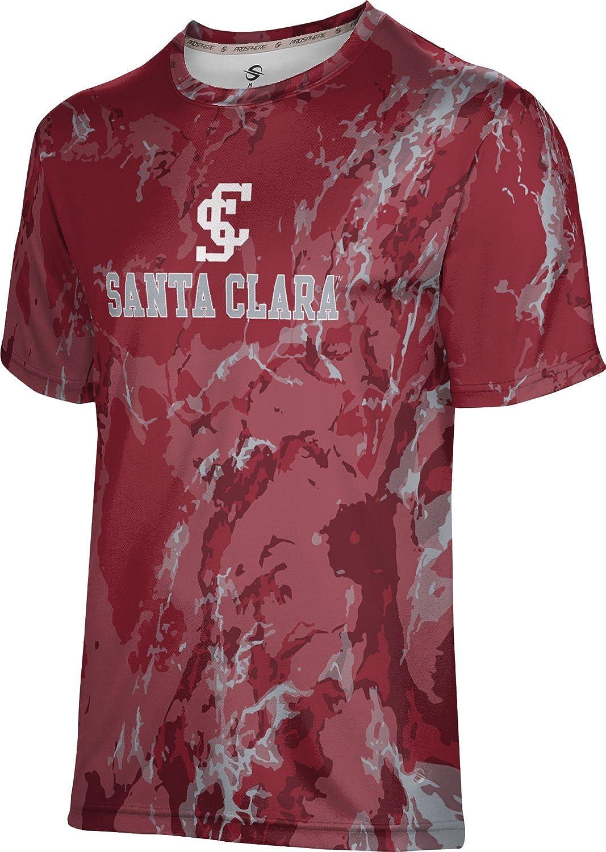 ProSphere Santa Clara University Mens Performance T-Shirt Marble