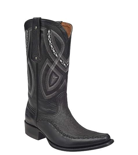 tipos de piel para botas vaqueras