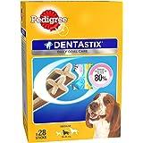 Pedigree Dentastix, Oral Care Dog Treat for Adult Medium Breed (10-25kg) Dogs – 720g Monthly Pack (28 Sticks)