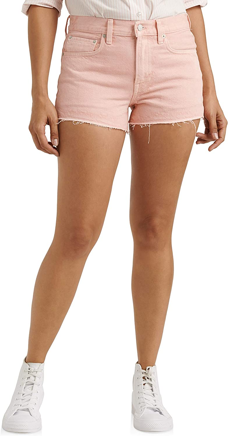 Lucky Brand Womens Mid Rise Cut Off Short
