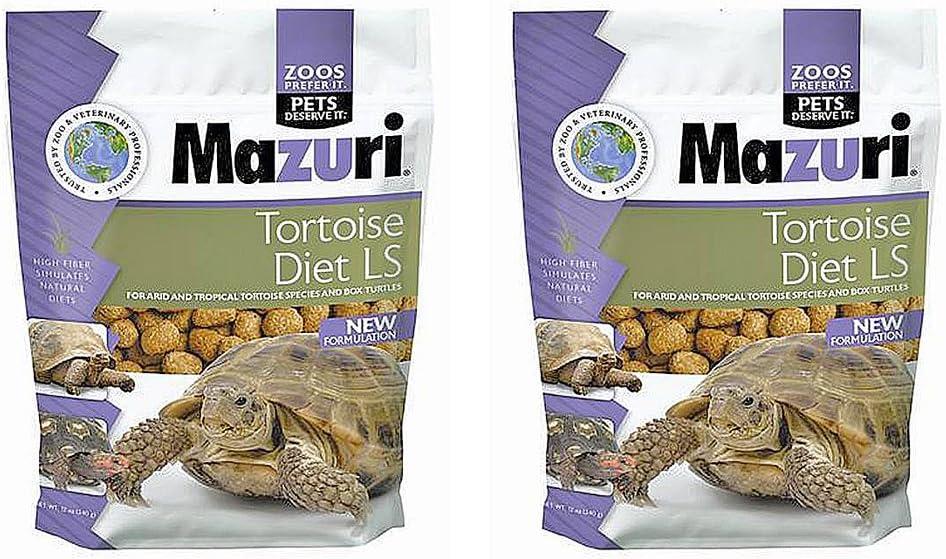 Mazuri Tortoise Diet LS 2-Pack