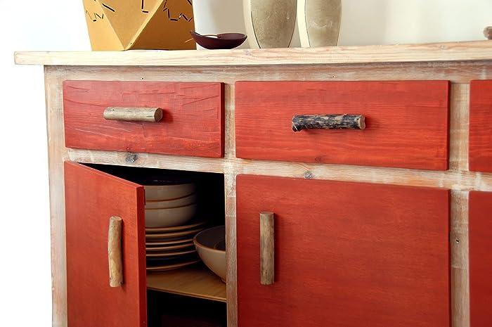 Credenza Con I Pallet : Credenza rossa: amazon.it: handmade
