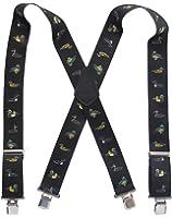 "Suspender Station Mens 2"" Duck Image Suspenders"