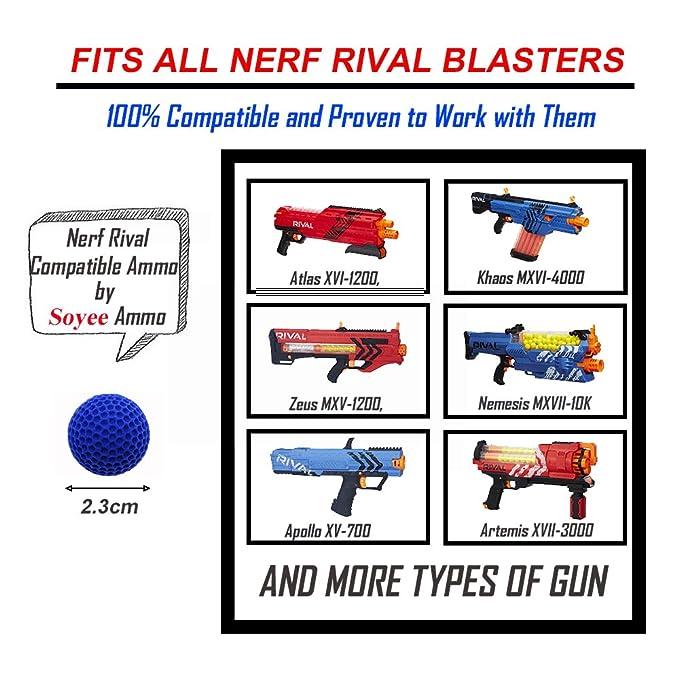 Amazon.com: Rival Compatible Ammo – Paquete de recambio para ...
