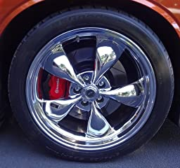 "Amazon.com: American Racing Torq Thrust M AR605 Chrome Wheel (17x8""/5x4.75""): Automotive"