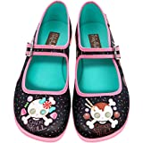 Hot Chocolate Design Chocolaticas Candy Skull Women's Mary Jane Flat