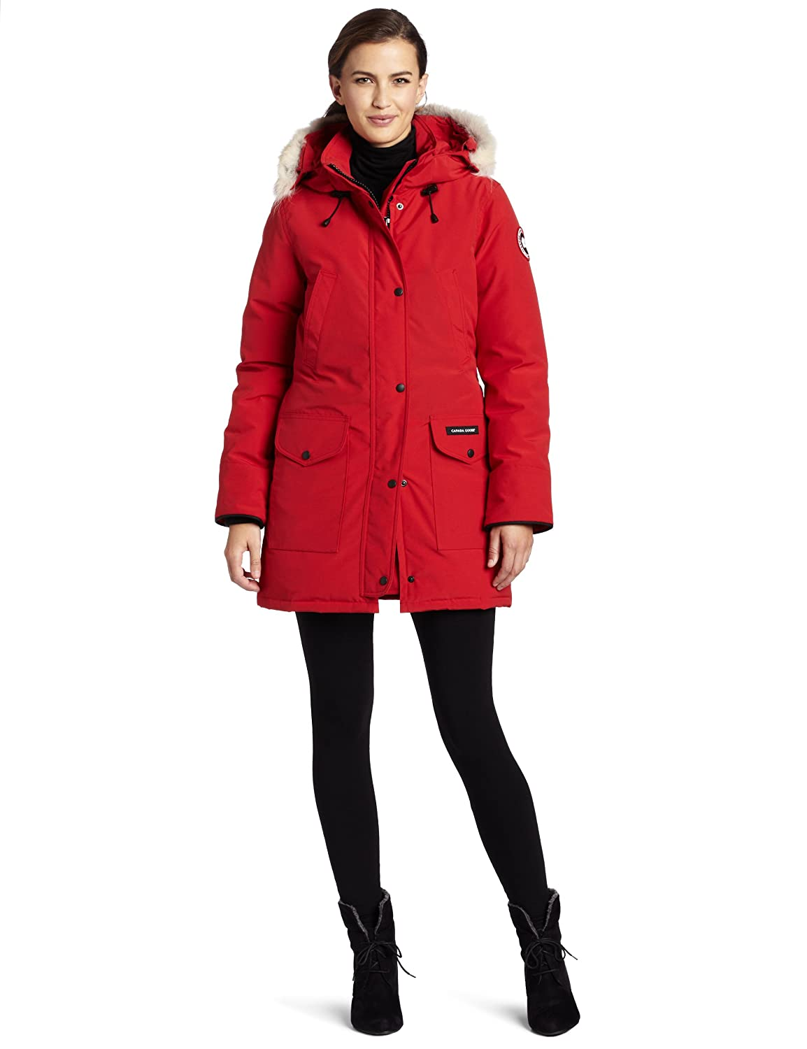 canada goose red womens