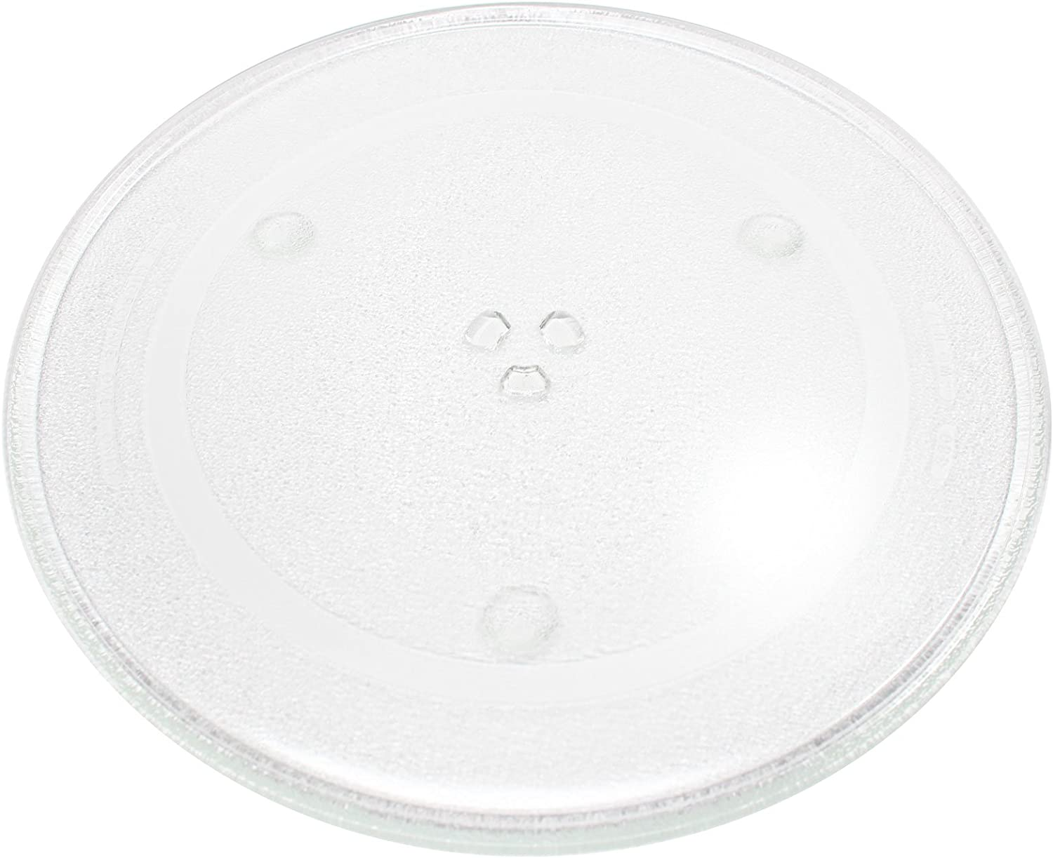 "Replacement for Panasonic NNSN797S Microwave Glass Plate - Compatible with Panasonic B06014W00AP Microwave Glass Turntable Tray - 14 7/8"" (380mm)"