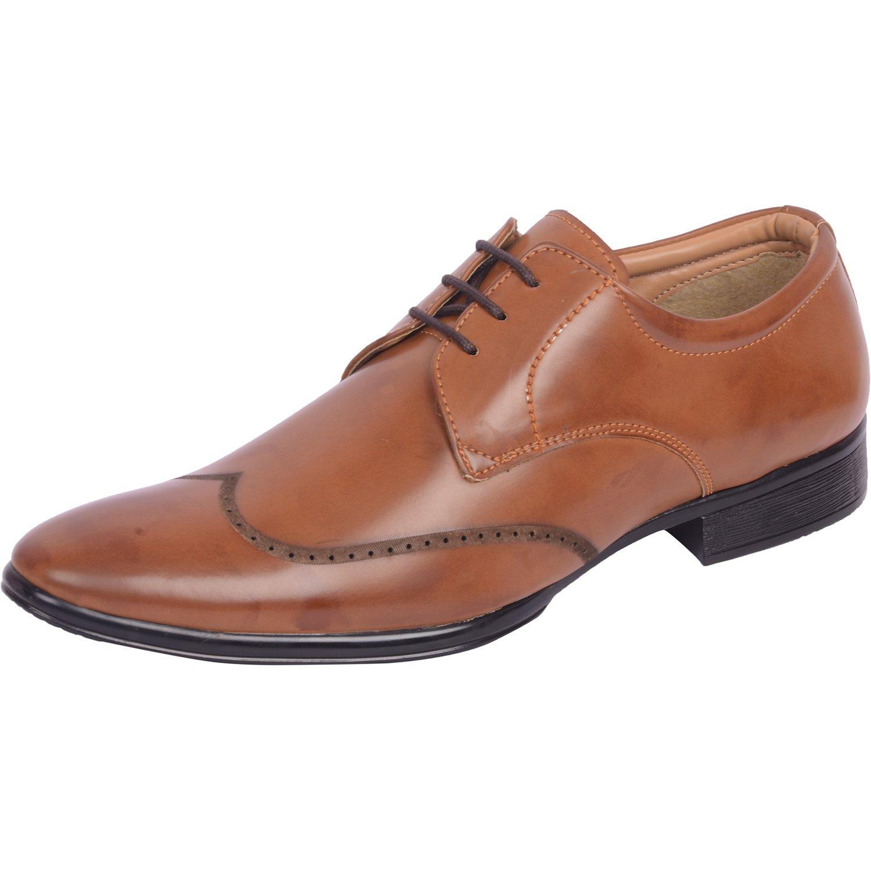 Vonzo Men Black Classy Formal Shoes