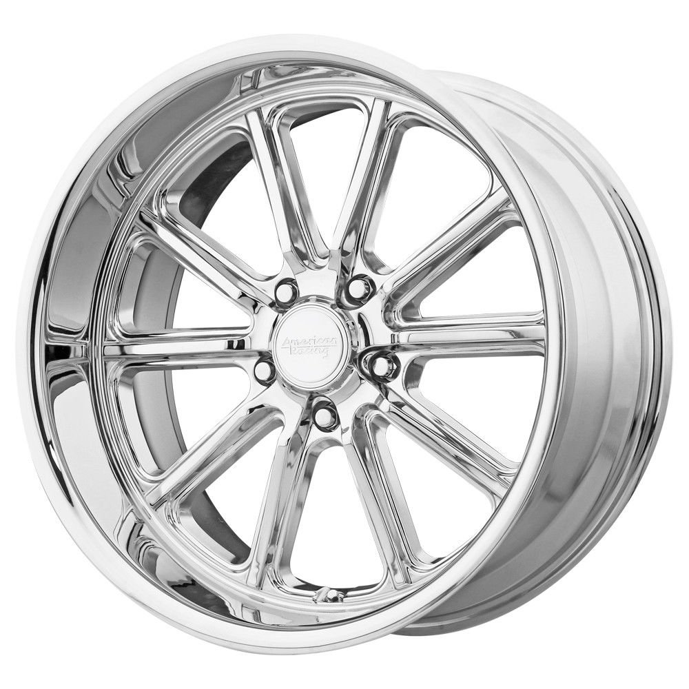 American Racing VN507 Rodder 17x8 5x114.3 +0mm Chrome Wheel Rim