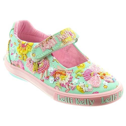 0408617362 Lelli Kelly Kids LK5054 Pollie Bar Shoes in Turquoise: Amazon.co.uk ...