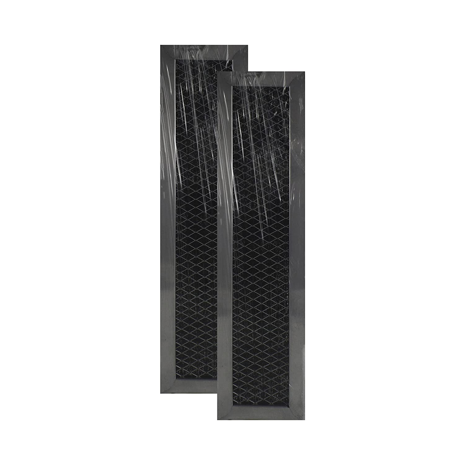 2 Pack Air Filter Factory Compatible Replacement for Frigidaire 5304464577 Microwave Oven Charcoal Carbon Filter AFF51-CH
