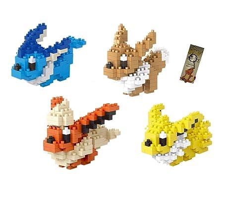 Amazoncom Pokemon Nanoblock Micro Building Blocks The Pokemon Go