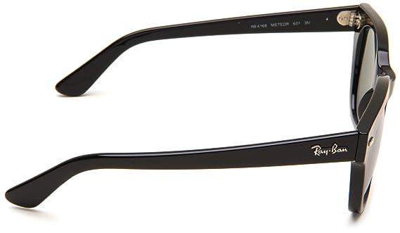 c89a754aa5 Ray-Ban 4168 601 Black Meteor Wayfarer Sunglasses Driving Lens Category 4   Ray-Ban  Amazon.co.uk  Clothing
