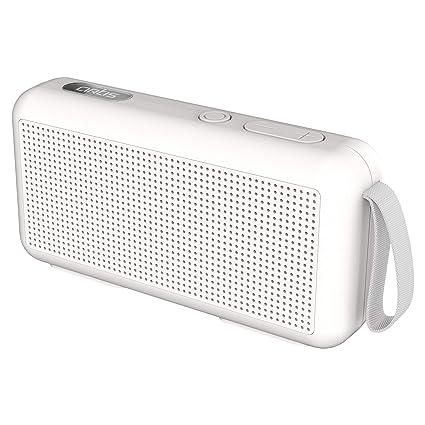 Artis BT05 Portable Wireless Bluetooth Speaker with TF Card Reader/FM Radio & Hands Free Calling Mic.(White)