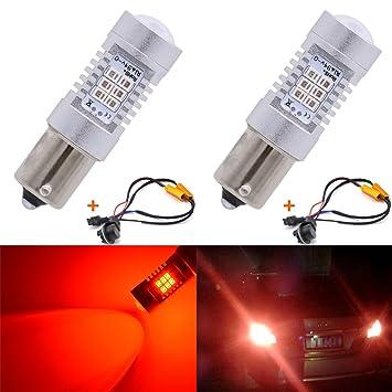 2 bombillas LED blanco 283521SMD 80W de alta potencia KaTur 7056