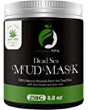Dead Sea Mud Mask - Natural Face Mask and Body Cleanser - Best Facial Treatment Pore Reducer & Minimizer Acne Blackheads & Oily Skin with Minerals 8.8 oz