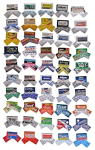100 Quality Double Edge Razor Blades Sampler (2 Blades of each brand)