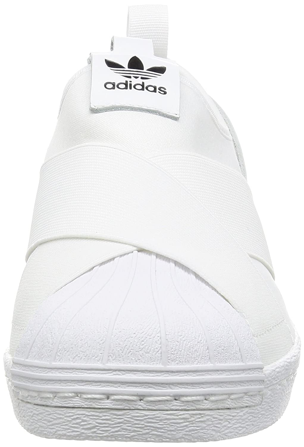 adidas Superstar Slip On, Zapatillas de Deporte para Mujer, Blanco FTWR White/Core Black, 37.5 EU: Amazon.es: Zapatos y complementos