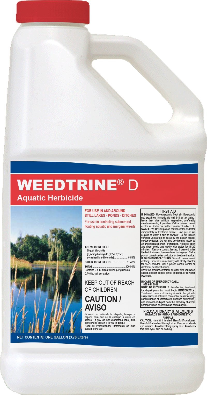 Applied Biochemists 390304A Weedtrine D Aquatic Herbicide, 1 gallon